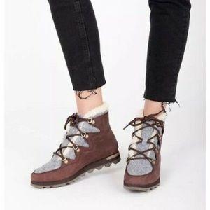Anthropologie Sorel Sneckchic boots